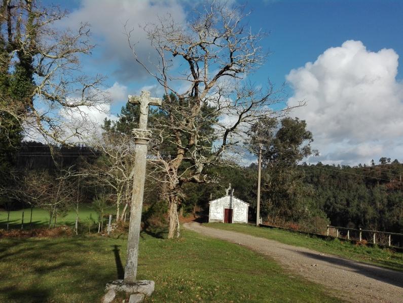 Sta. Mariña do Remuíño, Corcoesto. Área de Especial Interés Paisaxístico. AEIP VAL FLUVIAL DO LOURIDO.