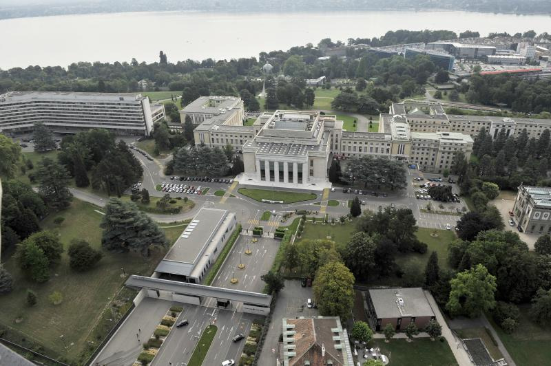 United Nations headquaters in Geneva