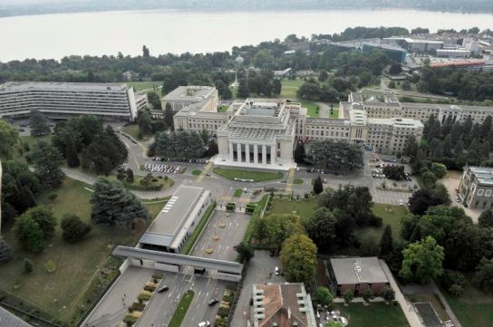United Nations headquaters in Geneva